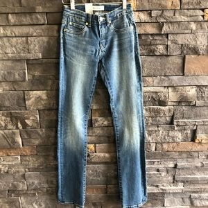 Henry & Belle Super Stretch Straight Jeans, sz 25